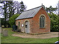 TM2374 : The Chapel at Stradbroke Cemetery by Adrian Cable
