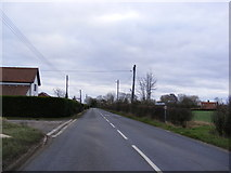 TM2373 : B1117 Laxfield Road by Adrian Cable