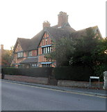 ST8558 : Grade II listed Palmers Almshouses, Trowbridge by Jaggery