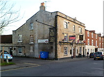 ST8558 : Grade II listed The Crown Hotel, Trowbridge by Jaggery