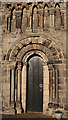 NT1477 : Dalmeny Parish Kirk South Doorway by Anne Burgess