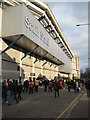 TQ3491 : South Stand, White Hart Lane by Philip Halling