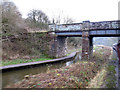 SK0048 : Footbridge at Consall by Stephen Craven