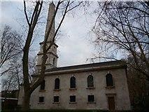 TQ3282 : St Luke's Church, Old Street EC1 by Robin Sones