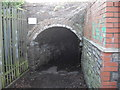 ST2687 : Entrance to foot tunnel beneath railway, Rhiwderin by John Lord