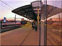 SJ8297 : Cornbrook Station by David Dixon