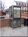 TM2445 : Telephone Box in The Square by Adrian Cable