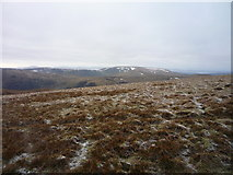 NT1614 : View across White Coomb summit plateau by Alan O'Dowd