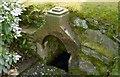 NS3478 : Old wellhead, Geilston Gardens by Lairich Rig