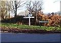 TQ5321 : Signboard near Blackboys, East Sussex by nick macneill