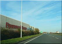 SD3246 : Amounderness Way and Fisherman's Friend Factory by Peter Bond