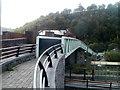 SO2100 : Railway footbridge, Llanhilleth by Jaggery