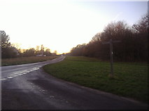 TQ1450 : Junction of Ranmore Road and Ranmore Common Road by David Howard