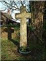 SS6301 : Cross, Sampford Courtenay by Derek Harper
