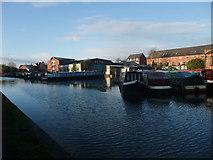 SK4430 : Dobson's Boatyard, Shardlow by Tim Heaton