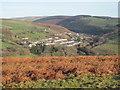 SS9286 : Pant-yr-awel from Bryn-y-Wrach by John Light