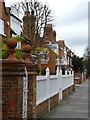 TQ2178 : 1 and 2 Rupert Gardens, Bedford Park by Alan Murray-Rust