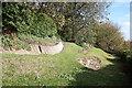 SK9771 : Ancient terracing by Richard Croft
