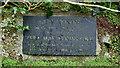 SW4538 : Memorial to Vera Atkins in  Saint Senara's Church Churchyard Zennor by Peter Skynner