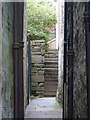 HU4741 : Steps on Crooked Lane, formerly Betty Mann's Closs by Rob Farrow