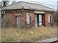 SK6429 : Down platform building, Widmerpool station by Richard Green