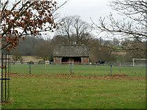 TQ5244 : Cricket pavilion, Penshurst Park by Robin Webster