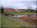 SK6375 : Hardwick Village by Trevor Rickard