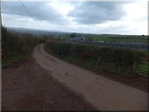 SS9907 : Above Sunnyburrow Farm; PV cells by David Smith