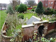 SX9292 : Burial Ground, Magdalen Street, Exeter by Tom Jolliffe