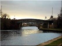 SE5023 : Knottingley canal bridges by derek dye