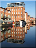SO8554 : Converted warehouses, Diglis by Philip Halling
