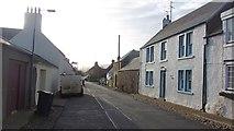 NT8127 : High Street, Town Yetholm by Richard Webb