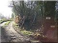 TQ5361 : Whitehill Farm track, near Shoreham by Malc McDonald