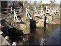 SU8743 : West Bridge, Tilford by Colin Smith
