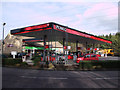 SP0302 : Texaco filling station and Co-operative store at Burford Road service area by Vieve Forward