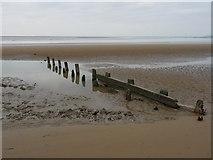 ST3049 : Burnham-On-Sea - Groyne by Chris Talbot