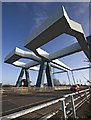 TA0834 : Ennerdale Link bridges, Hull by Paul Harrop