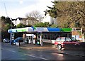 SX9064 : Filling station, Upton Road by Richard Dorrell