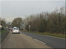 SJ6827 : A41 approaching Mill Green crossroads by Peter Whatley