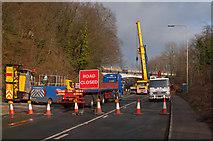 TQ2652 : Road closed by Ian Capper