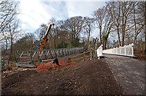 TQ2652 : Reigate Hill Footbridge by Ian Capper