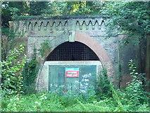TQ3471 : Paxton Tunnel, north portal by Roger W Haworth