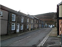 SS9497 : Eleanor Street, Pen-yr-englyn near Treherbert by Jaggery