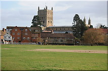 SO8832 : Abbey Mill and Tewkesbury Abbey by Philip Halling