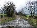 SE0937 : Cross Lane, west of Coplowe Lane by Christine Johnstone