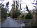TM2751 : New Road and the bridleway to the A1152 Woods Lane by Geographer