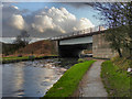 SD5918 : Leeds and Liverpool Canal, M61 Motorway Bridge by David Dixon