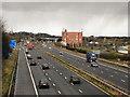SD5918 : M61 Motorway by David Dixon