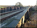 TF4200 : Rusting rails and rivets - Railway bridge over Twenty Foot River by Richard Humphrey