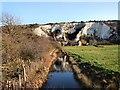 TQ4209 : Stream in Lewes LNR by Paul Gillett